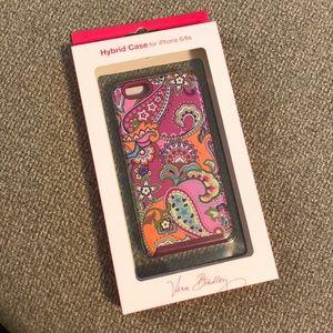 💕Vera Bradley iPhone 6/6s case in Pink Swirls